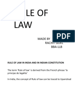 ppt on rule of law