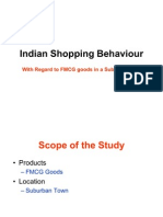 Indian Shopping Behaviour for FMCG