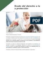 El Significado Del Derecho a La Vida y Su Protección