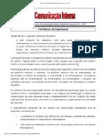 A Comunicação Interna. Estudo de Caso no C. E2