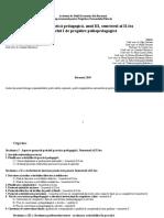 Caiet de Practica pedagogica Nivelul I Sem II