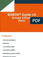 IIBA-France_Reunion de lancement StudyGroup 2019-2020
