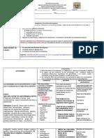 secuencia  didactica 2020