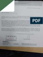 Nota a director IAPOS por prevención COVID-2019