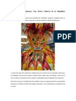 El Carnaval Dominicano