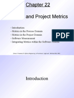 Pressman Ch 22 Process and Project Metrics