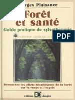 livre forêt et santé