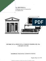 Informe_de_la_sesin_de_la_Comisin_Primera_del_da_1_de_mayo_de_1991