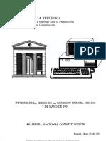 Informe_de_la_sesin_de_la_Comisin_Primera_del_da_7_de_mayo_de_1991