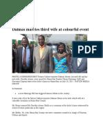 DALMAS OTIENO MARRIES THIRD WIFE [CLS - 305 - FAMILY LAW].doc