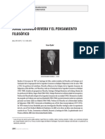 Jorge Eduardo Rivera y el pensamiento filosófico