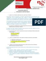 Evaluacion GP MODULO III - Diplomado Gestión Pública