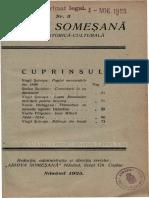 Revista Arhiva Somesana nr. 2 anul 1925