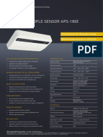 Especificaciones apc180