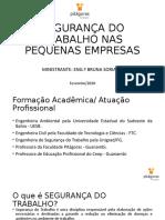SEGURANÇA DO TRABALHO NAS PEQUENAS EMPRESAS.pptx
