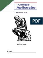 APOSTILA 2015 FILOSOFIA ALUNO_
