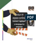 ppt Espace confiné 2