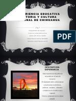 Experiencia educativa historia y cultura regional de chihuahua 1