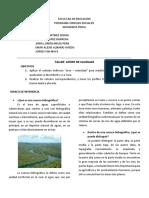 TALLER AFORO DE CAUDALES