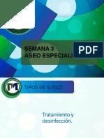 2. TIPOS Y DESINFECCIÓN DE SUELOS