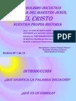 01 SIMBOLISMO INICIÁTICO VIDA JESÚS INTRODUCCION