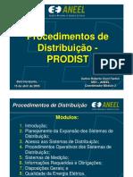 apresentação PRODIST