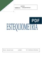 Unidad 6 Estequiometria