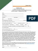 Summer Vista Associates Application 2020
