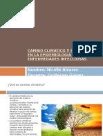 Cambio climático y su impacto en la epidemiologia.pptx