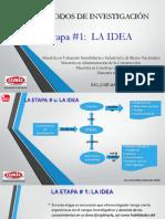 Etapa 1     LA IDEA
