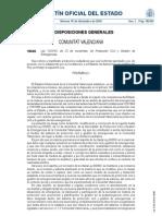 Ley 13/2010, de 23 de noviembre, de Protección Civil y Gestión de Emergencias