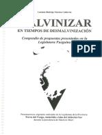 16 Proyectos (2015-2019) presentados La Legislatura Fueguina