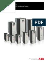 Convertidores industriales-Programa de control primario ACS880