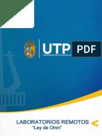 Manual de usuario - Práctica Ley OHM