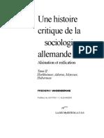 Frédéric Vandenberghe - Une histoire critique de la sociologie allemande. Vol. 2_ Horkheimer, Adorno, Marcuse, Habermas. 2-La Découverte (1998).doc