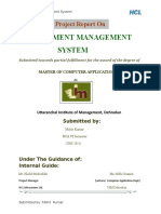 ASSIGNMENT MANAGEMENT SYSTEM PROJECT REPORT.doc
