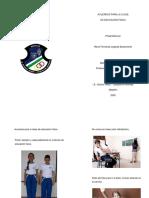 Acuerdos para la clase de educación física