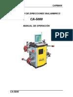 Manual de operacion CARMAN CA 5000    2006