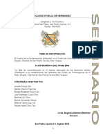 CSH. PROYECTO DE INVESTIGACION
