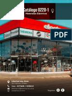 Lista 0220-1 Materiales Eléctricos Catálogo