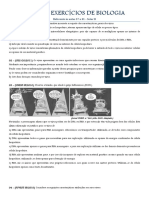 LISTA DE EXERCÍCIOS DE BIOLOGIA