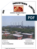 Raghvendra Singh -Scm Prject at Renupower Division