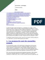 Linguistique et génétique des textes. DECALOGUE