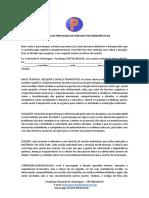 CONTRATO DE PRESTAÇÃO DE SERVIÇOS PSICOTERAPÊUTICOS