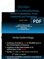 Stroke - Highlights on Pathophysiology, Clinical Presentation, Acute Treatment and Prevention.pptx