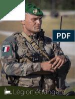 Plaquette de presentation Legion etrangere 2018
