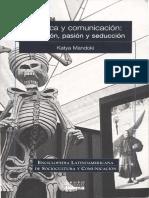 Los Vinculos Entre La Comunicación y La Estetica Mandoki-