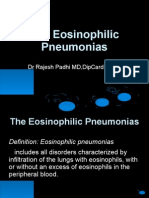 Eosinophilic Pneumonias