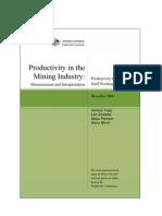 Mining Productivity