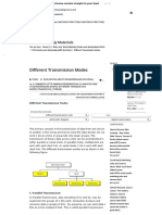 Different Transmission Modes